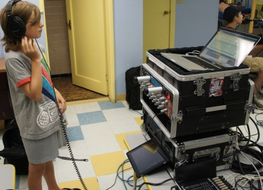 Live Multitrack Audio Recording & Post Production Mix of students at Concordia Conservatory of Music & Art