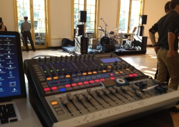 Live Sound System and Sound Engineer for French Cultural Services event