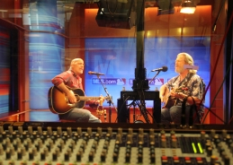 Live Multitrack Audio Recording of Jeff Bridges and Chris Pelonis at MLB Studios