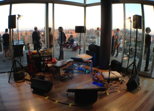 Live Sound and Sound Engineer at The Standard Hotel